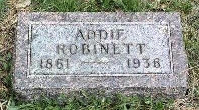 ROBINETT, ADELINE (ADDIE) - Madison County, Iowa | ADELINE (ADDIE) ROBINETT
