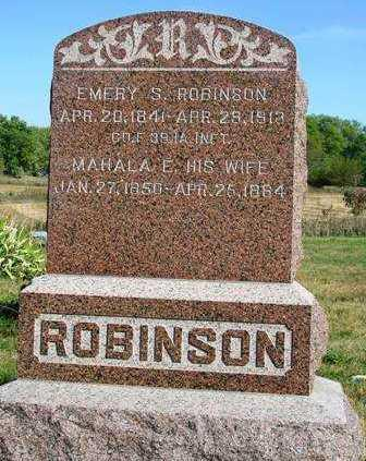 ROBINSON, MAHALA EDITH - Madison County, Iowa | MAHALA EDITH ROBINSON