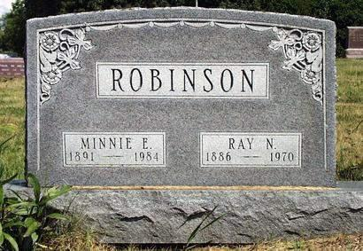 SAGE ROBINSON, MINNIE EDNA - Madison County, Iowa | MINNIE EDNA SAGE ROBINSON