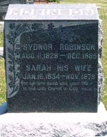 ROBINSON, SYDNOR - Madison County, Iowa | SYDNOR ROBINSON