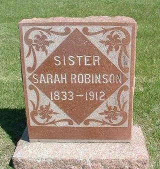 SMITH ROBINSON, SARAH - Madison County, Iowa | SARAH SMITH ROBINSON