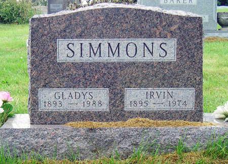ROBINSON SIMMONS, ELSIE GLADYS - Madison County, Iowa   ELSIE GLADYS ROBINSON SIMMONS