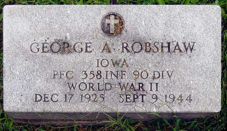 ROBSHAW, GEORGE A. - Madison County, Iowa | GEORGE A. ROBSHAW
