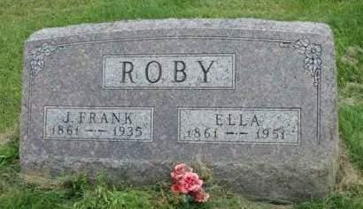 EARL ROBY, ELLA - Madison County, Iowa | ELLA EARL ROBY