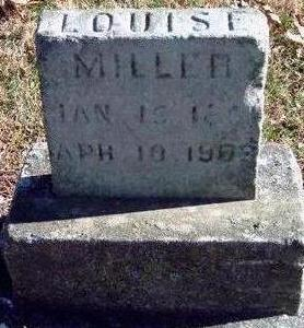 ROBY MILLER, LOUISE - Madison County, Iowa | LOUISE ROBY MILLER