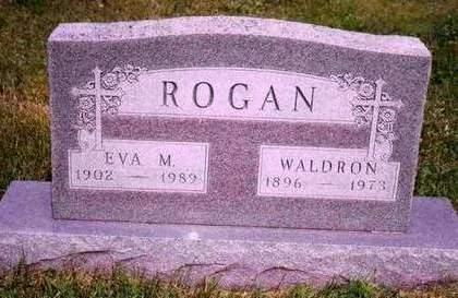 MANDERS ROGAN, HARRIET EVELYN (EVA) - Madison County, Iowa | HARRIET EVELYN (EVA) MANDERS ROGAN