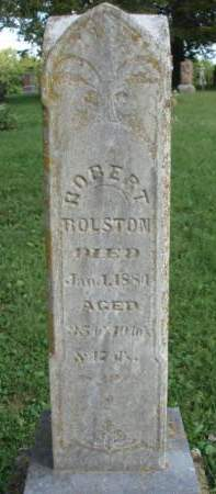 ROLSTON, ROBERT - Madison County, Iowa | ROBERT ROLSTON