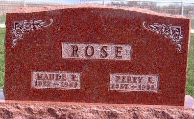 ROSE, MAUDE ROWENA - Madison County, Iowa | MAUDE ROWENA ROSE