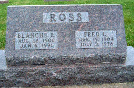 HENRY ROSS, BLANCHE E - Madison County, Iowa | BLANCHE E HENRY ROSS