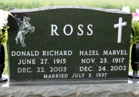 ROSS, HAZEL MARVEL - Madison County, Iowa | HAZEL MARVEL ROSS