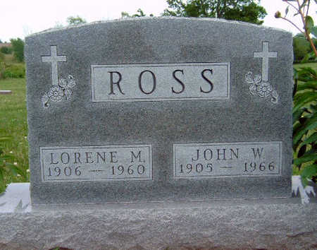 ROSS, LORENE M - Madison County, Iowa | LORENE M ROSS