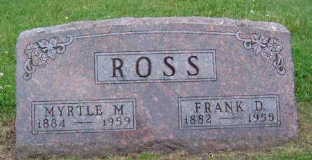 ROSS, FRANK D. - Madison County, Iowa | FRANK D. ROSS