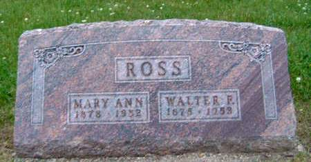 MCKIBBEN ROSS, MARY ANN - Madison County, Iowa | MARY ANN MCKIBBEN ROSS