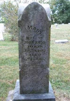 ROSS, MARY - Madison County, Iowa | MARY ROSS