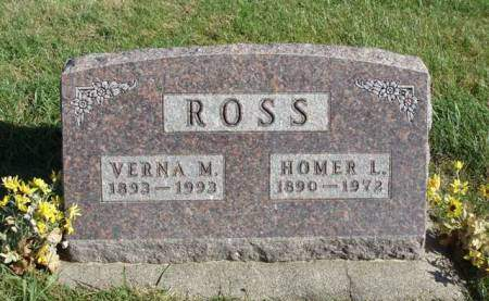 ROSS, VERNA MURL - Madison County, Iowa | VERNA MURL ROSS