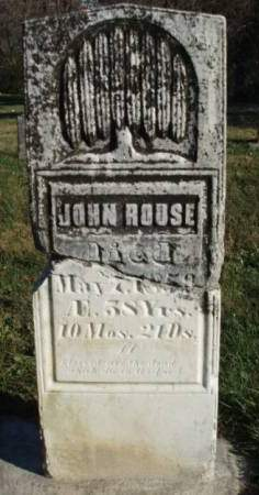 ROUSE, JOHN - Madison County, Iowa | JOHN ROUSE
