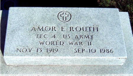 ROUTH, AMOR ELLIS - Madison County, Iowa | AMOR ELLIS ROUTH