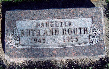 ROUTH, RUTH ANN - Madison County, Iowa | RUTH ANN ROUTH