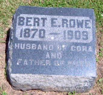 ROWE, BERT E. - Madison County, Iowa | BERT E. ROWE