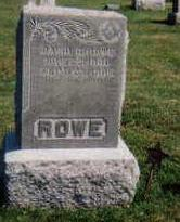 ROWE, SARAH  MARIA (SALLY) - Madison County, Iowa | SARAH  MARIA (SALLY) ROWE