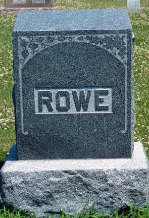 ROWE, FAMILY STONE - Madison County, Iowa | FAMILY STONE ROWE
