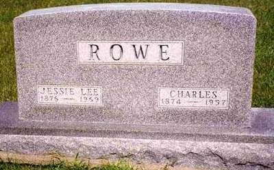ROWE, JESSIE M. - Madison County, Iowa | JESSIE M. ROWE