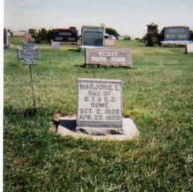 ROWE, MARJORIE ELLA - Madison County, Iowa | MARJORIE ELLA ROWE