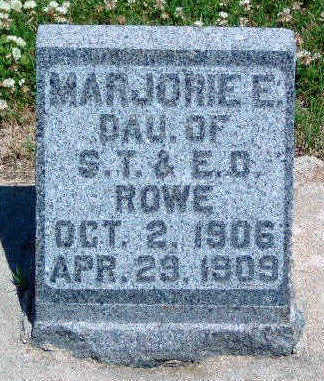 ROWE, MARJORIE ELLA - Madison County, Iowa | MARJORIE ELLA ROWE