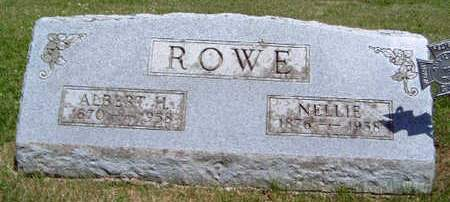 ROWE, ALBERT H. - Madison County, Iowa | ALBERT H. ROWE