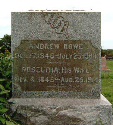 ROWE, ANDREW - Madison County, Iowa | ANDREW ROWE