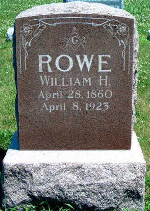 ROWE, WILLIAM H. - Madison County, Iowa | WILLIAM H. ROWE
