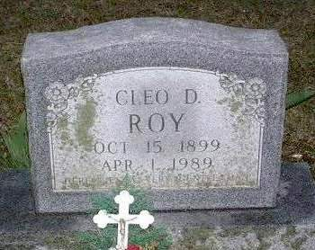 ROY, CLEO DALE - Madison County, Iowa | CLEO DALE ROY