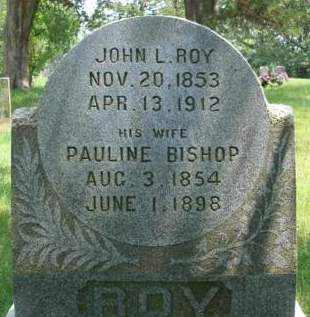 BISHOP ROY, PAULINE - Madison County, Iowa | PAULINE BISHOP ROY