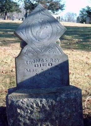 ROY, THOMAS MEADOWS - Madison County, Iowa | THOMAS MEADOWS ROY