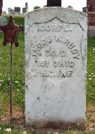 RUDY, JACOB W.  (CORPL.) - Madison County, Iowa | JACOB W.  (CORPL.) RUDY