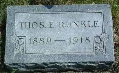 RUNKLE, THOMAS EARL - Madison County, Iowa | THOMAS EARL RUNKLE