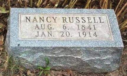 RUSSELL, AGNES NANCY - Madison County, Iowa | AGNES NANCY RUSSELL