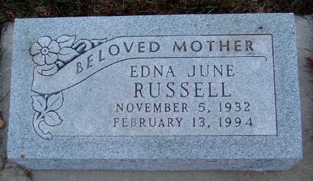 RUSSELL, EDNA JUNE - Madison County, Iowa | EDNA JUNE RUSSELL