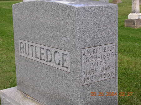 RUTLEDGE, ARCHIBALD M. - Madison County, Iowa | ARCHIBALD M. RUTLEDGE