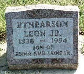 RYNEARSON, LEON JAMES JR. - Madison County, Iowa | LEON JAMES JR. RYNEARSON