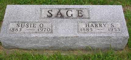 SAGE, HARRY SANBORN - Madison County, Iowa | HARRY SANBORN SAGE