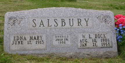 SALSBURY, EDNA MARY - Madison County, Iowa | EDNA MARY SALSBURY