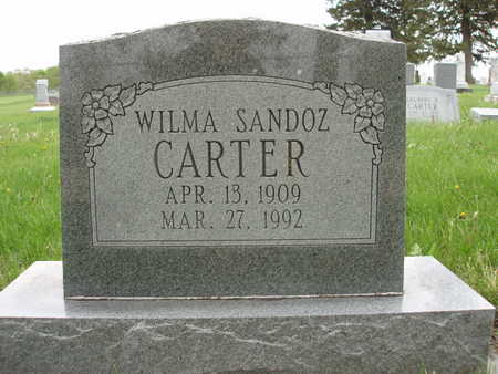 SANDOZ CARTER, WILMA L. - Madison County, Iowa | WILMA L. SANDOZ CARTER