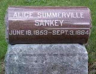 SUMMERVILLE SANKEY, ALICE - Madison County, Iowa | ALICE SUMMERVILLE SANKEY