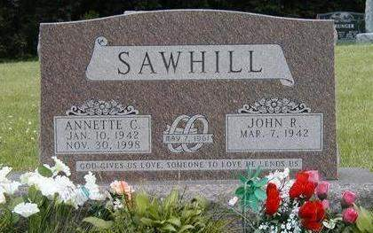 SAWHILL, JOHN ROBERT - Madison County, Iowa | JOHN ROBERT SAWHILL