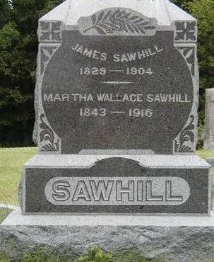 WALLACE SAWHILL, MARTHA ELLEN - Madison County, Iowa | MARTHA ELLEN WALLACE SAWHILL