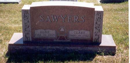 SAWYERS, ELSIE B. - Madison County, Iowa | ELSIE B. SAWYERS