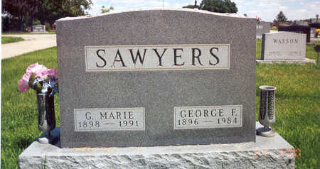 YOUNG SAWYERS, GARNET MARIE - Madison County, Iowa | GARNET MARIE YOUNG SAWYERS