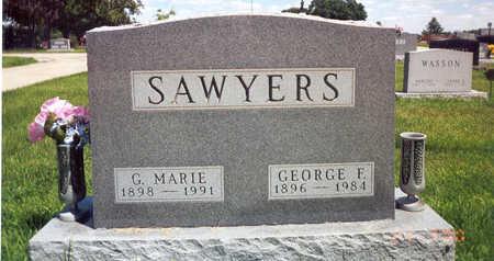 SAWYERS, GARNET MARIE - Madison County, Iowa | GARNET MARIE SAWYERS