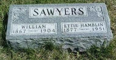 POPE SAWYERS, MINNIE ETTA (ETTIE) - Madison County, Iowa | MINNIE ETTA (ETTIE) POPE SAWYERS